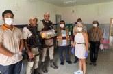 81ª CIPM de Itinga realiza rondas nas Escolas Municipais e acompanha a distribuição dos Kits Alimentação para os alunos