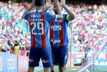 Bahia vence e assume a liderança do Grupo A do Nordestão
