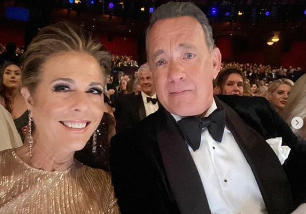 Mulher de Tom Hanks foi tratada com cloroquina e relata efeitos colaterais