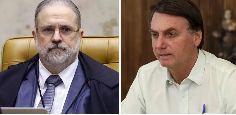 Aras pede que STF investigue Bolsonaro por possíveis crimes delatados por Moro