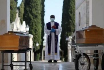 Itália tem quase 120 mil casos e 15 mil mortes em pandemia