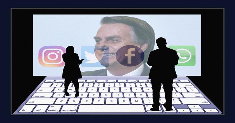 Em semana conturbada, robôs bolsonaristas atacam nas redes sociais