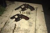 Quarteto envolvido com roubos é surpreendido pela polícia em Lauro de Freitas; dois morrem