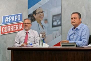 Rui Costa anuncia prorrogação do fechamento das escolas na Bahia