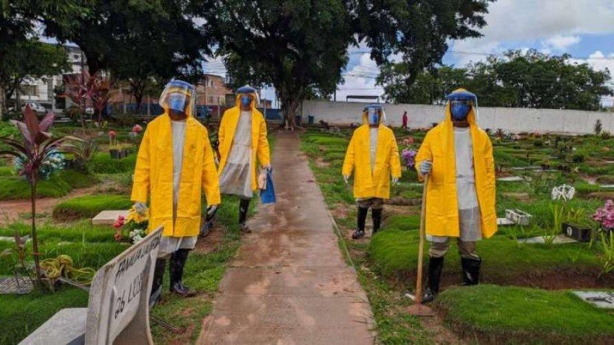 Exército pede informações a municípios sobre número de cemitérios e capacidade de sepultamentos diários