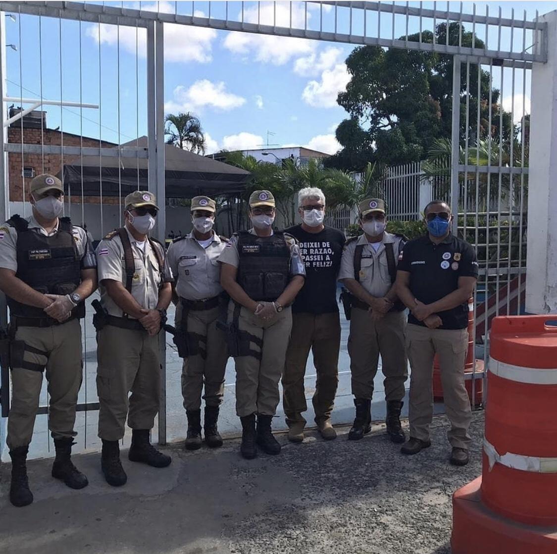 81ª CIPM distribui Cestas Básicas na Base Comunitária de Segurança de Itinga