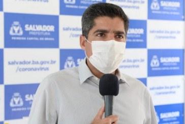Salvador: Prefeito projeta que em junho capital terá mais de 14 mil casos de Covid; leitos de UTI podem saturar em maio