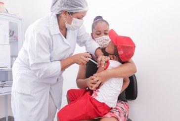 Crianças e professores são prioridade na terceira fase da campanha de vacinação contra H1N1