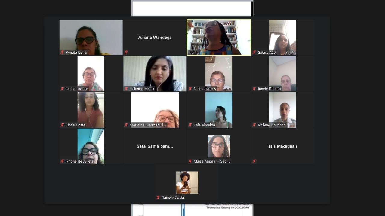 Em reunião remota, Comissão dos Direitos das Mulheres da Alba solicita criação da delegacia digital
