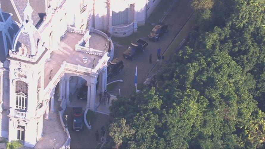 PF faz operação na casa do governador do Rio de Janeiro