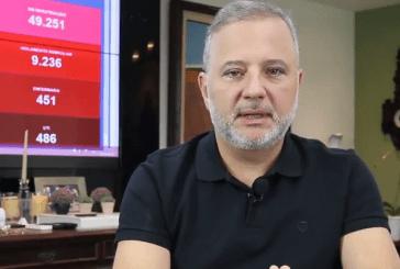 Taxa de crescimento de óbitos por coronavírus cai na Bahia