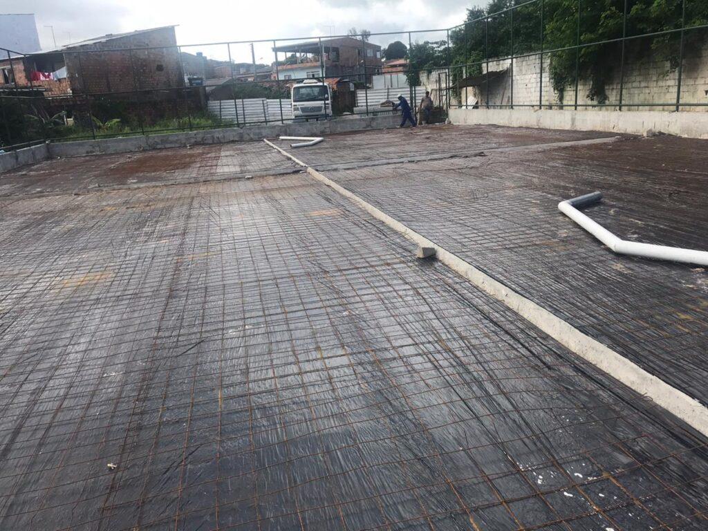 Prefeitura constrói 3 quadras esportivas em Lauro de Freitas