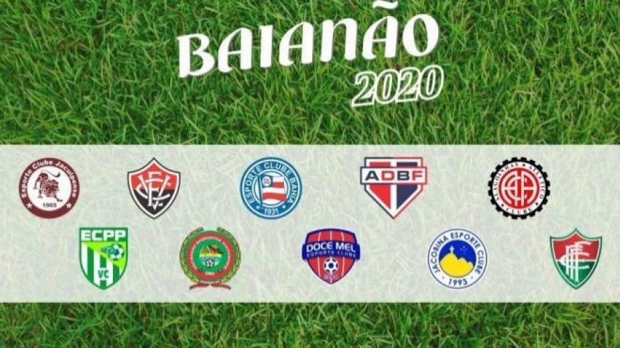 FBF divulga tabela para volta do Campeonato Baiano; estadual retorna dia 23