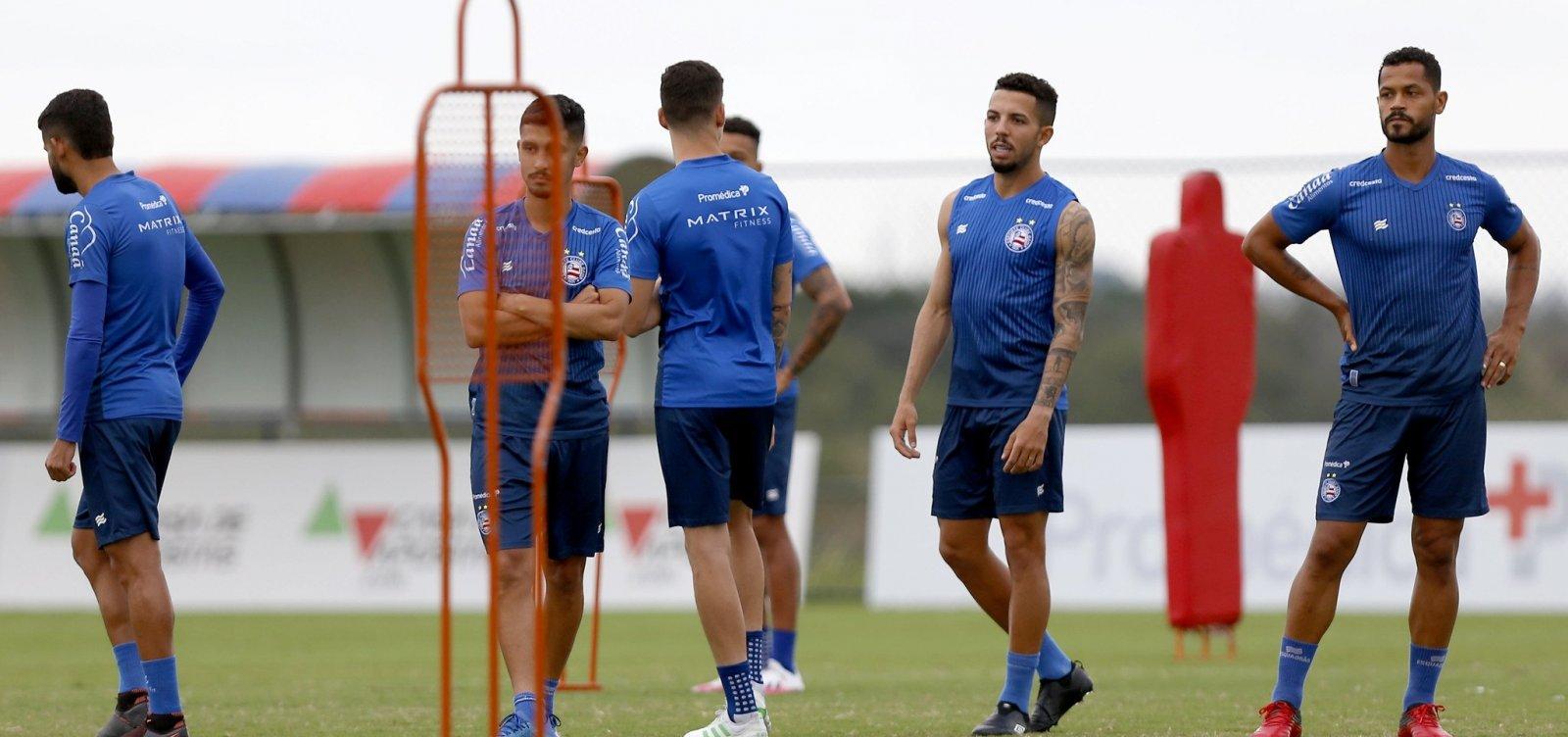 Bahia enfrenta Jacuipense pela semifinal do Baianão nesta quinta