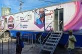 Caminhão de Testagem Rápida para o diagnóstico do Covid-19 da Prefeitura, chega ao Cají Caixa D'água