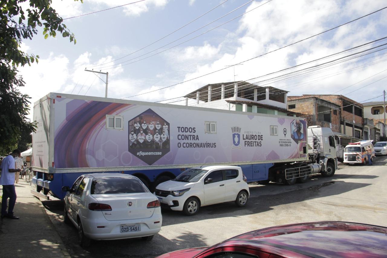 Prefeitura realiza 39ª barreira com testagem para Covid-19 no Parque São Paulo