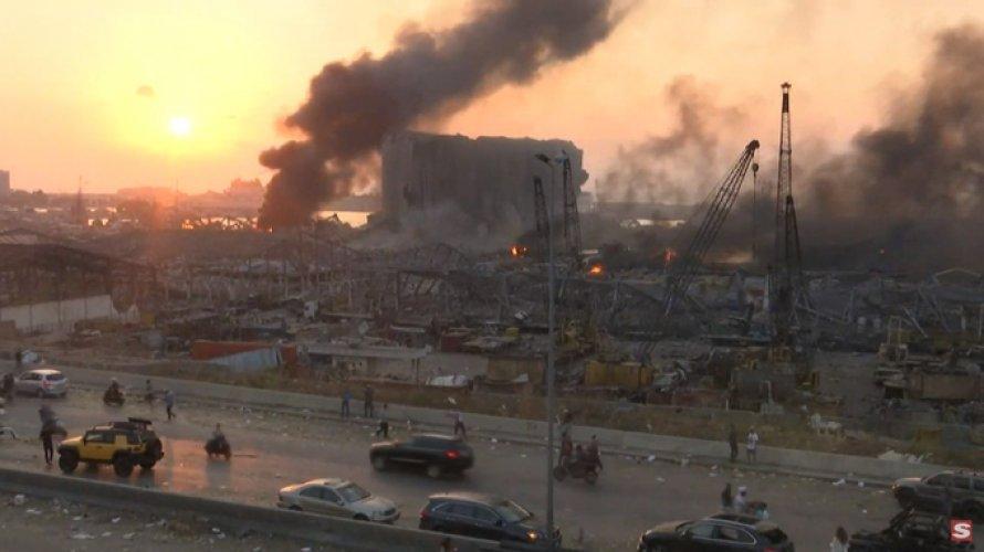 Após explosão, governo do Líbano contabiliza 2,7 mil feridos e mais de 70 mortos