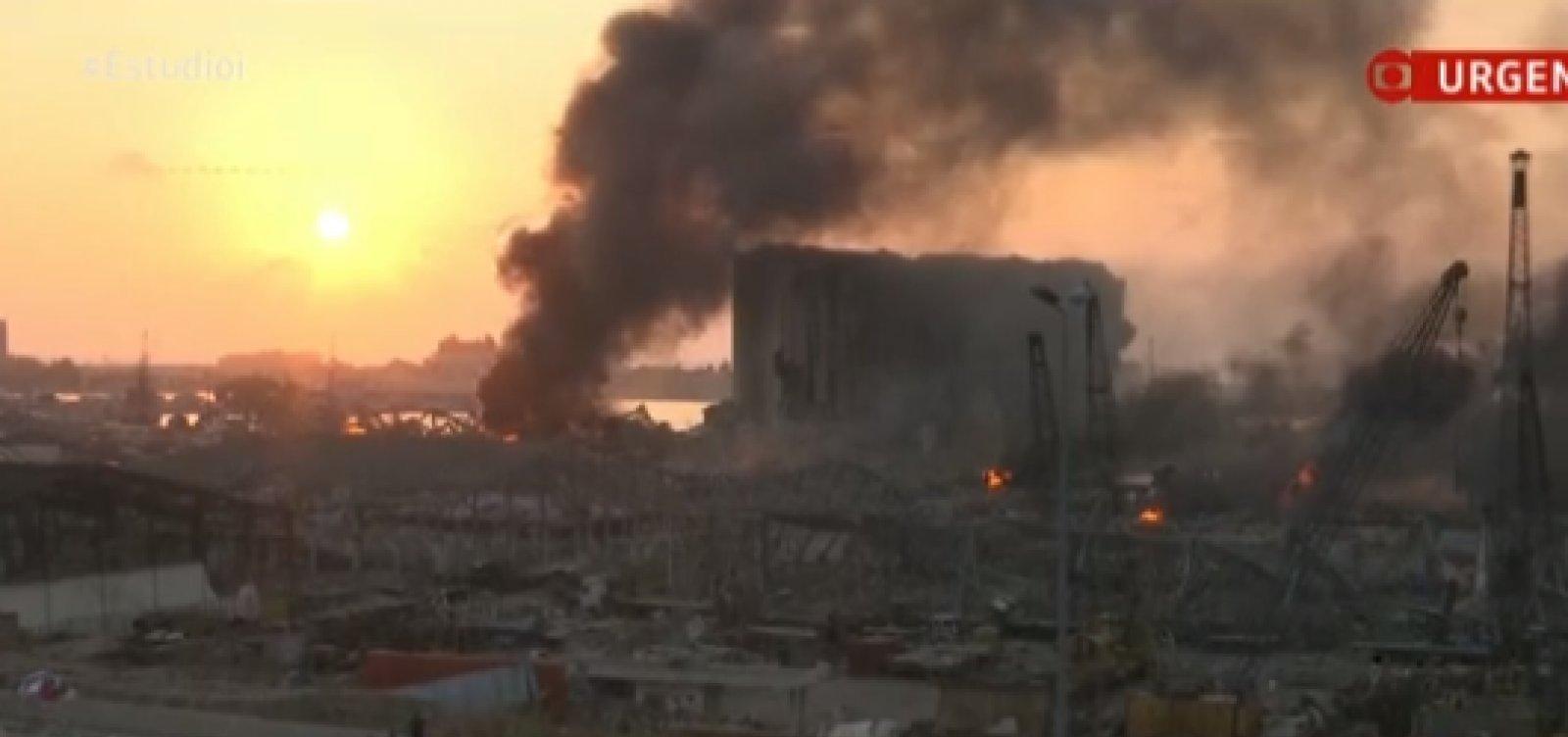 Número de mortos por explosão no Líbano passa de 100; feridos são cerca de 4 mil