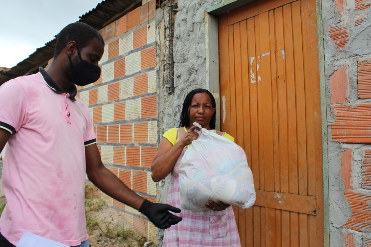 Prefeitura já entregou mais de 2.7 mil cestas de alimentos para grupos em situação de vulnerabilidade social
