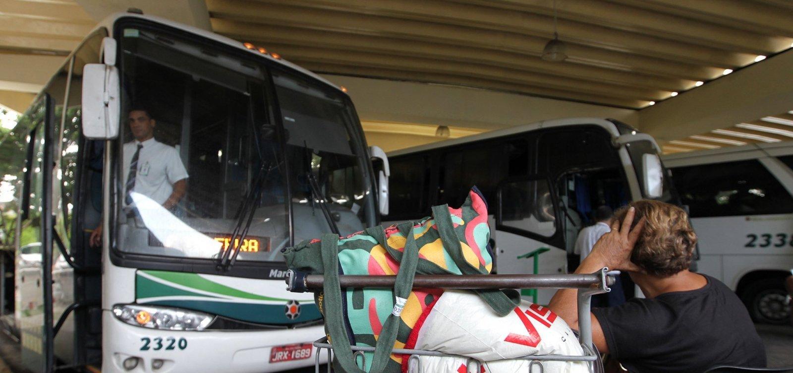 Governo autoriza retomada de transporte intermunicipal em cidades baianas