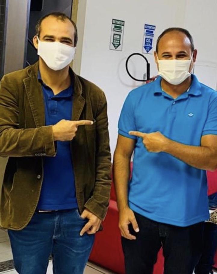 Vereador Rosalvo declara apoio à liderança Adriano Almeida e conta com o apoio do seu grupo