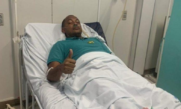 Prefeito de Madre de Deus sofre tentativa de homicídio na porta de casa e é levado à hospital