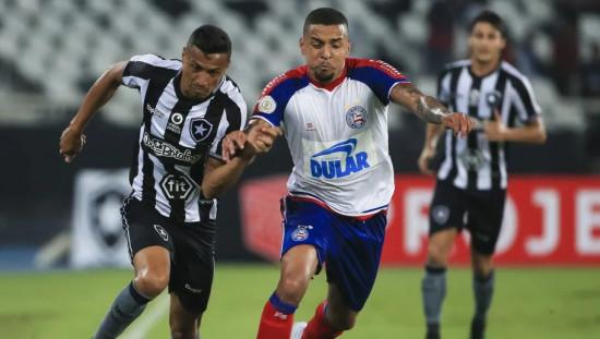 Sem vencer há nove jogos e na lanterna, Bahia encara o Botafogo pela Série A