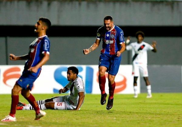 Bahia vence Vasco em Pituaçu por 3×0