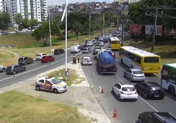 Salvador: Avenida ACM tem novas alterações no tráfego a partir deste sábado (10)