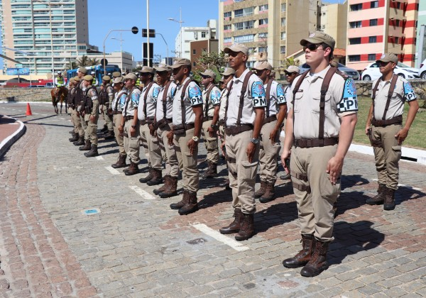 Estado convoca 184 reservistas da Polícia Militar