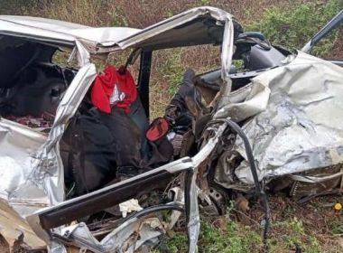 Deputado Mário Negromonte Jr. fica ferido em acidente que vitimou 2 pessoas em Jeremoabo