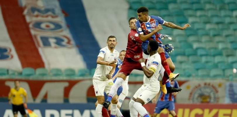 Bahia vence terceiro jogo seguido na Arena Fonte Nova, se afasta do Z-4 e é 9° na Série A