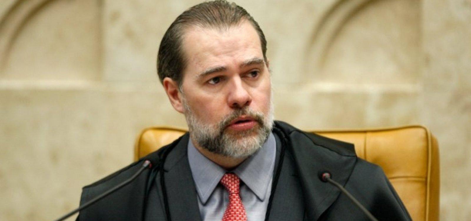 Dias Toffoli critica Lava Jato e ataca Sergio Moro