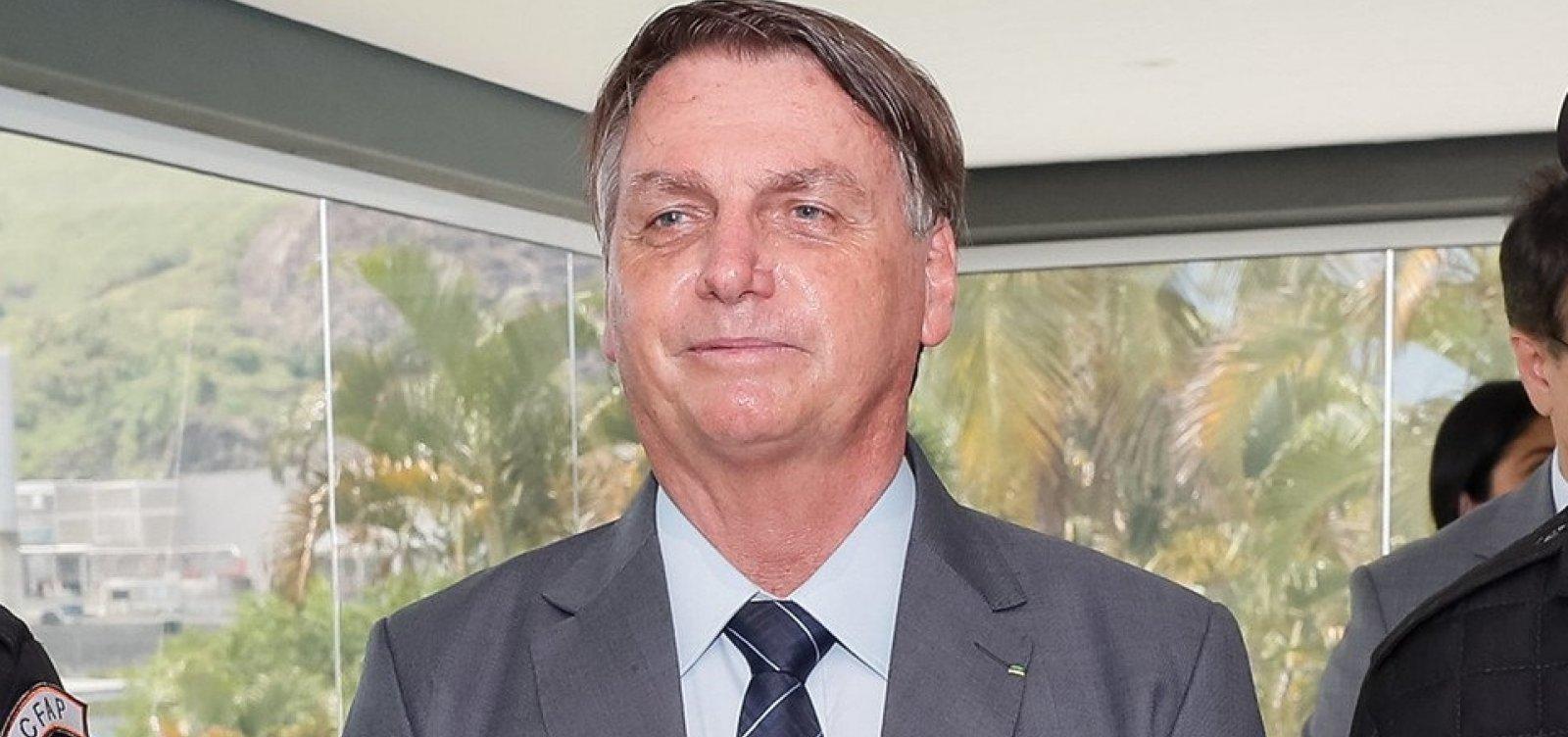 'Não dou bola para isso', diz Bolsonaro sobre outros países já terem começado vacinação contra Covid-19