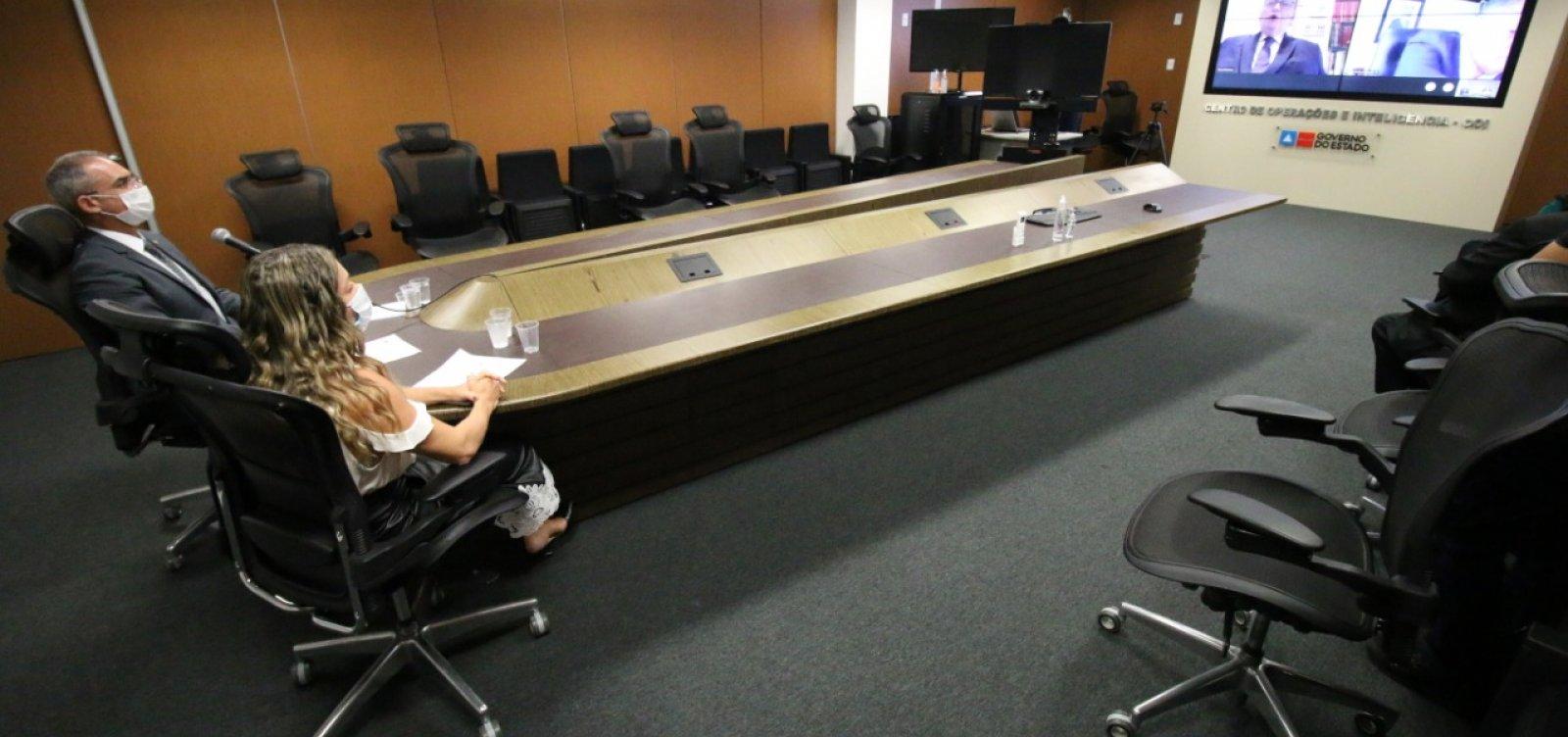 Novos membros da SSP e Polícia Civil são empossados por Rui Costa
