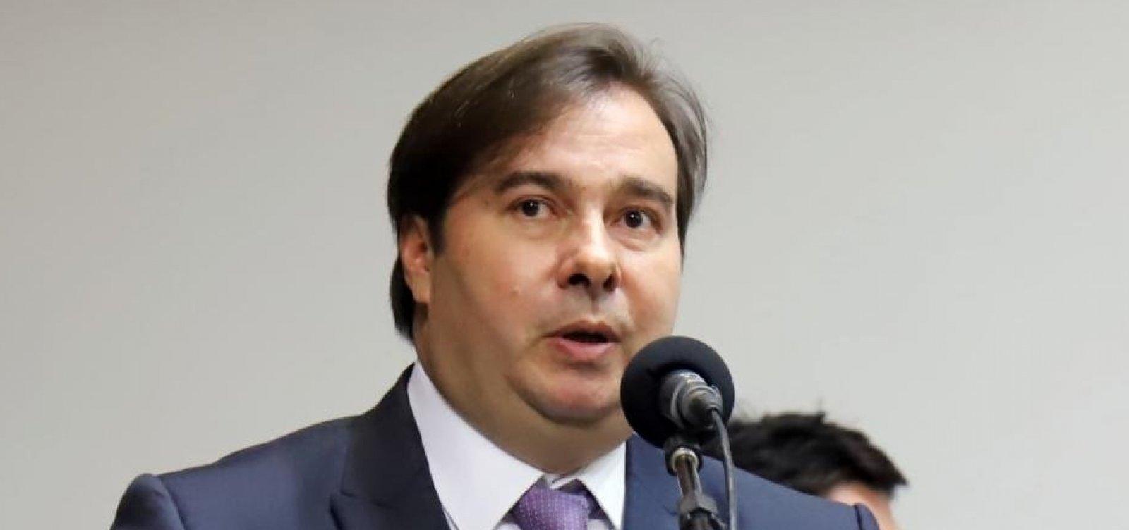 Rodrigo Maia diz já ter votos para aprovar PEC da reforma tributária na Câmara