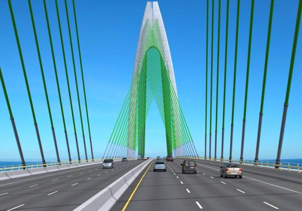 Rui Costa sanciona fundo garantidor da ponte Salvador-Itaparica; Leão comemora