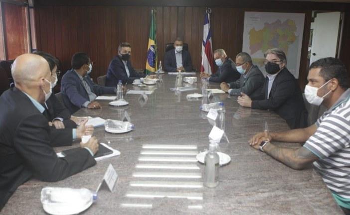 Governador comanda primeira reunião com grupo de trabalho para viabilizar nova montadora para a Bahia