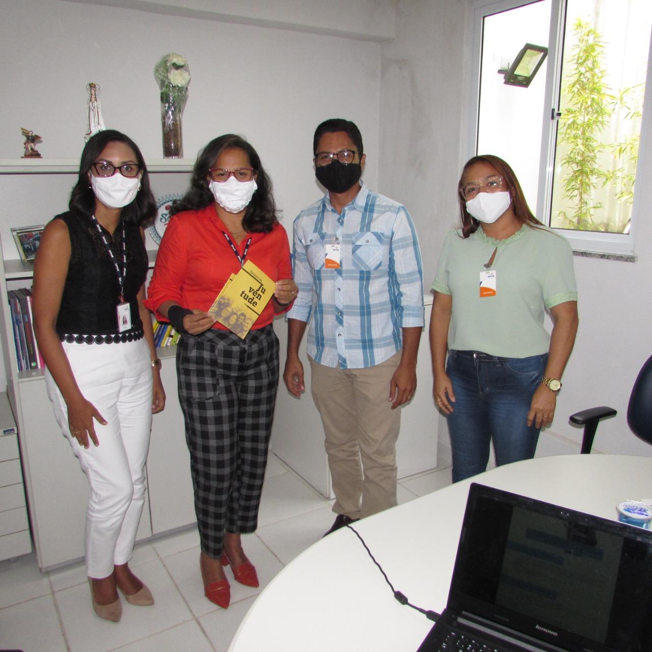 SEJU busca parceria para ofertar educação profissional