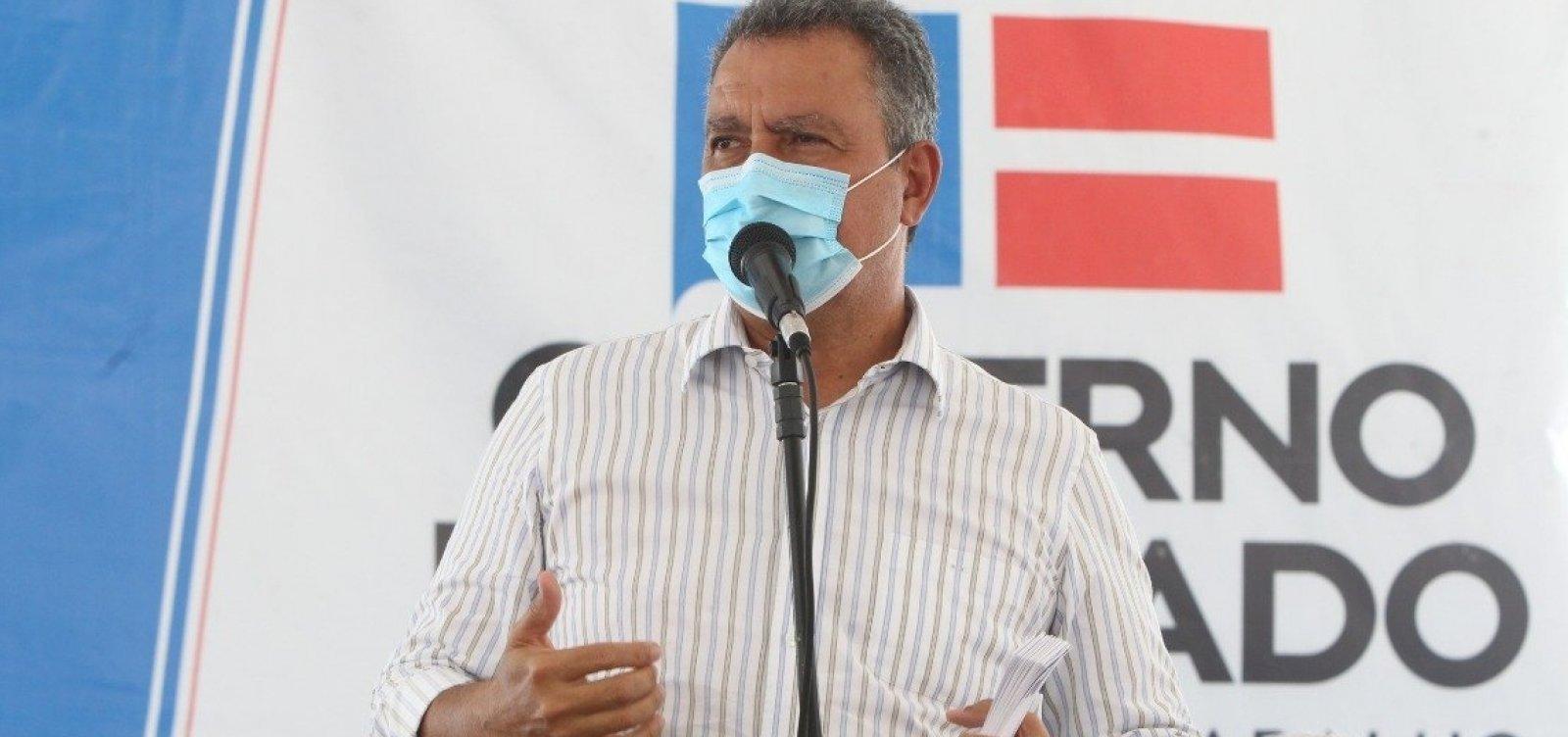 'Se o governo federal não comprar, o Estado da Bahia vai comprar a vacina', afirma governador Rui Costa