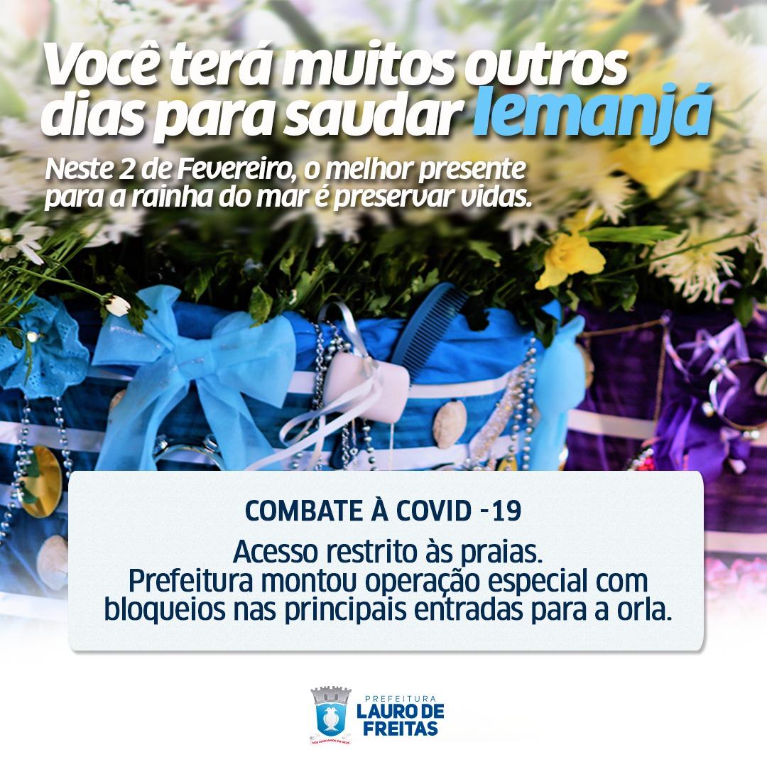 Para evitar aglomeração, terreiros decidem: Homenagem a Iemanjá em Buraquinho não terá xirê