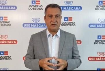 Governador decreta toque de recolher na Bahia, a partir desta sexta (19), das 22h às 5h