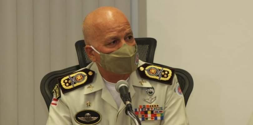 """""""A tropa só atuou quando ele disparou contra os policiais"""", afirma Comandante da PM"""
