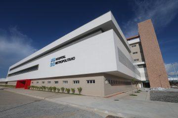 Governador anuncia abertura do Hospital Metropolitano para atender pacientes da Covid-19