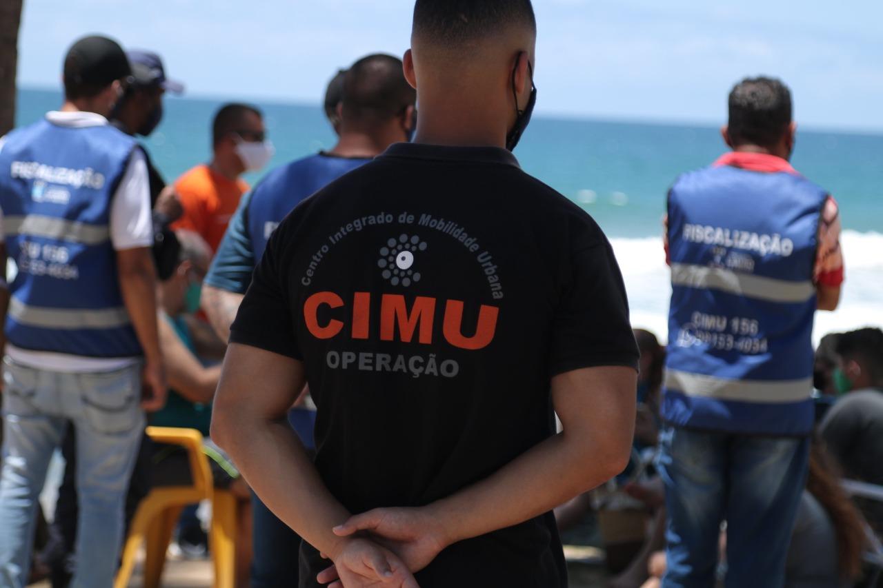Força-Tarefa fiscaliza orla e bairros de Lauro de Freitas para garantir cumprimento das medidas restritivas