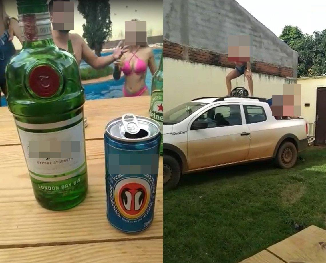 Festa regada a sexo e álcool dentro de casa alugada via Airbnb vira polêmica; imagens foram gravadas no imóvel
