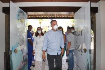 Rui visita Hospital Riverside em Lauro de Freitas, que inicia operação neste sábado com 96 novos leitos para Covid-19