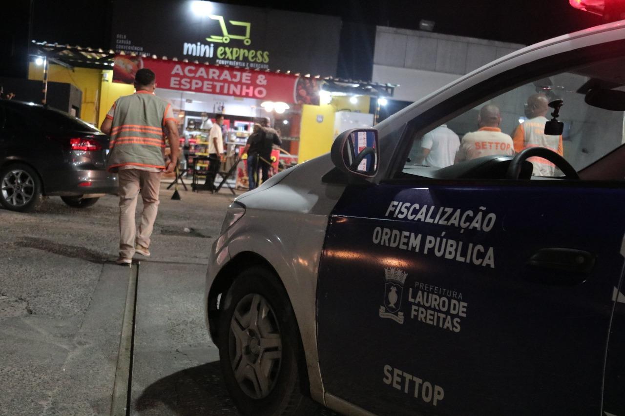 Lauro de Freitas altera início da restrição noturna para 21h e horário de funcionamento de estabelecimentos