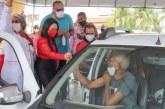 Mães celebram data com segunda dose da vacina contra a Covid-19 em Lauro de Freitas