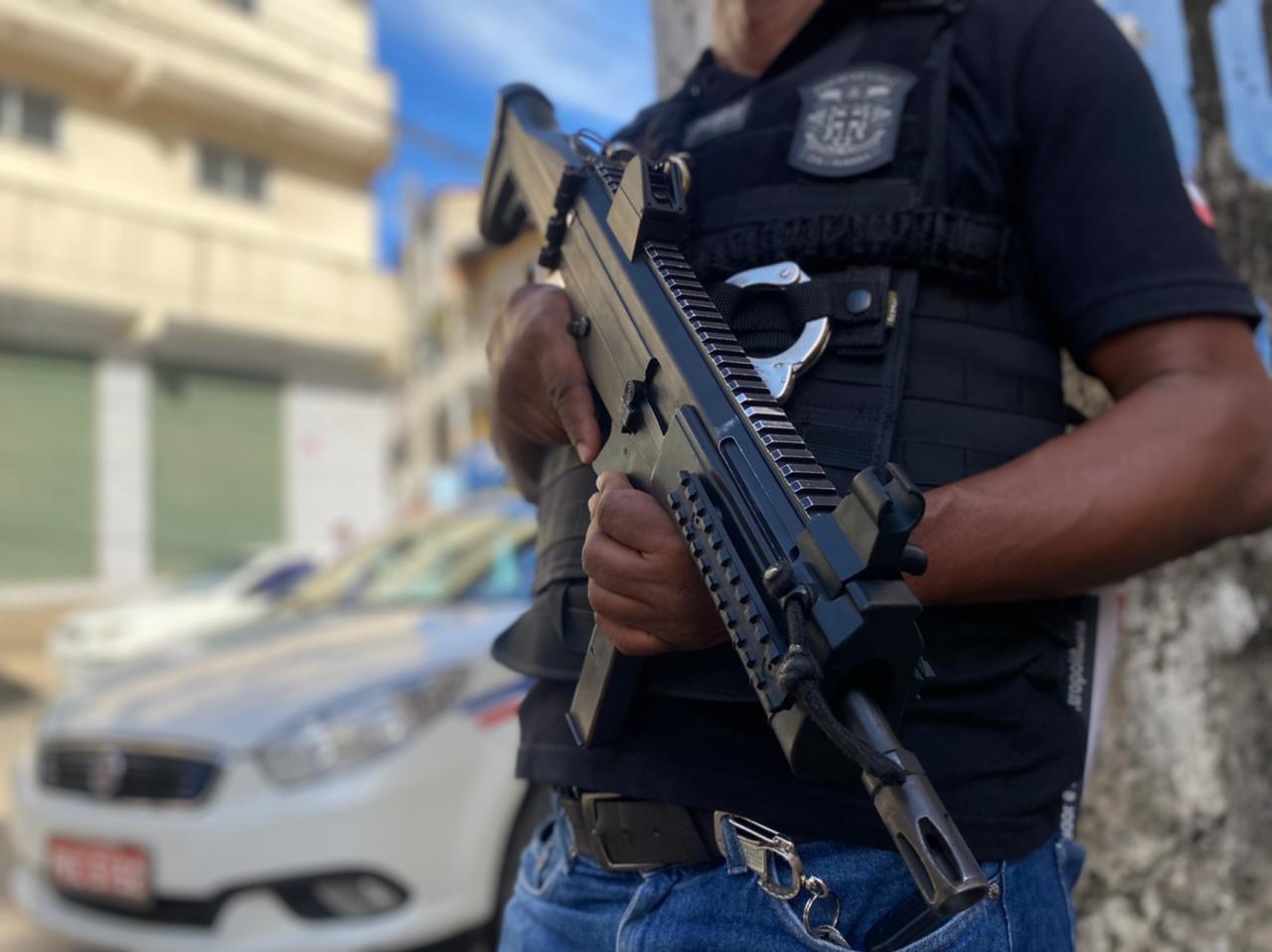 Equipes da 23ª DT de Lauro de Freiras desarticulam quadrilha de assaltantes de transportes por aplicativo